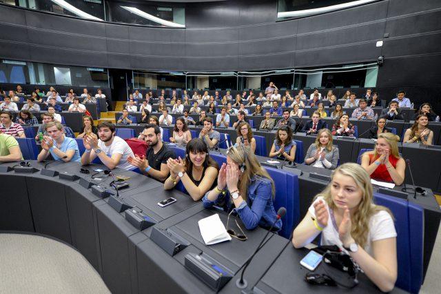 Europäisches Jugendevent 2018 in Straßburg