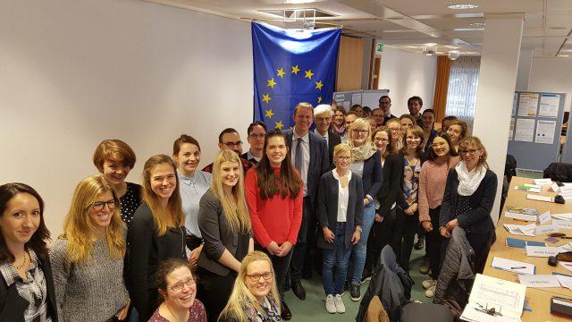 Europa fängt bei den jungen Leuten an