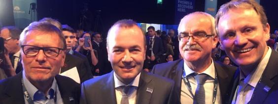 EVP-Spitzenkandidat – Weber in Helsinki gewählt