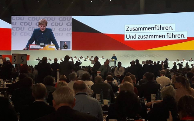Parteitag der CDU Deutschlands