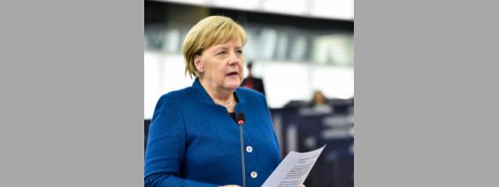 Angela Merkel zur Zukunft Europas