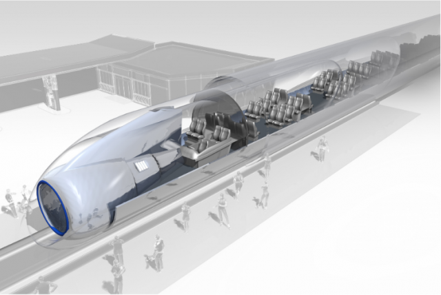 Europäisches Forschungszentrum für die Hyperloop-Technologie in Lathen