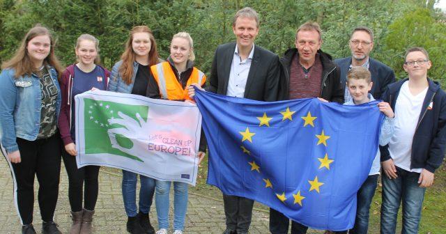 Landjugend setzt sich für sauberes Europa ein