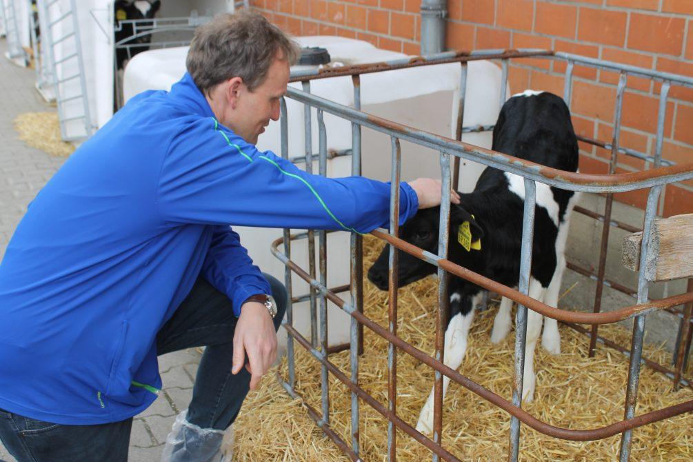 Jens Gieseke besucht Landvolk Emsland