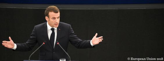 Emmanuel Macron zur Zukunft Europas