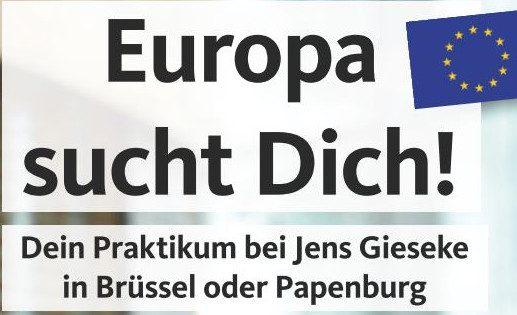 Europa sucht dich!