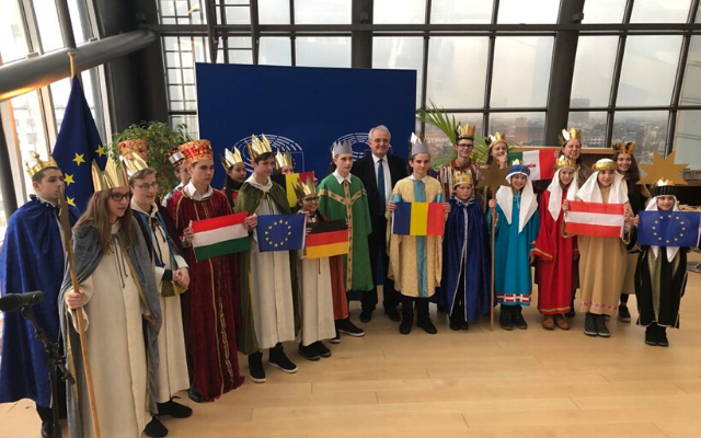Sternsingerempfang im Europäischen Parlament