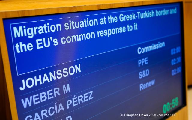Lage an der Grenze Türkei-Griechenland