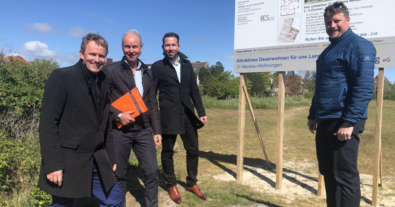 Jens Gieseke zu Besuch auf Langeoog